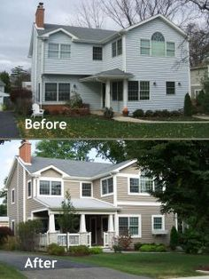 Budget Friendly Exterior Transformation by Normandy Builders Leslie Lee