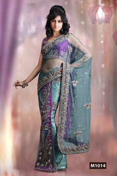Heavy Embroidered Designer Saree