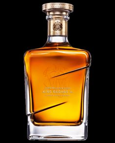 Johnny Walker Blue, King George V. Developed to celebrate the Royal Warrant given to the Walker family in 1934 to mark the exceptional qualities of their whiskies.