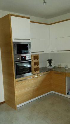 Kuchnia - wnętrze domu Zuzia MG Projekt