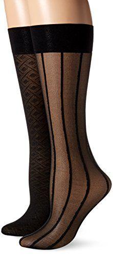 Nine West Women's Geometric Trouser Sock, Black, Nine West 20 denier geometric trouser sock 6 pair pack Trouser Socks, Fashion Socks, Women's Socks & Hosiery, Trousers Women, Cheap Dresses, Nine West, Pairs, Boots, How To Wear