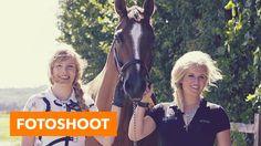 Achter de schermen bij photoshoot l PaardenpraatTV