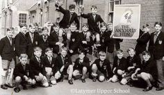 "thenoblehouseofrickman: "" Baby Alan Rickman (first row, second from left), Latymer Upper, c. 1958-60 """