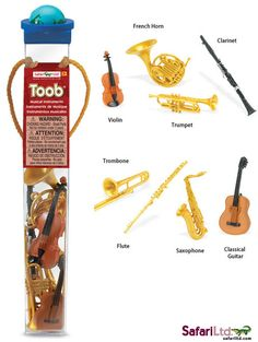 Safari Ltd. Musical Instruments Giveaway & Free Montessori Printables