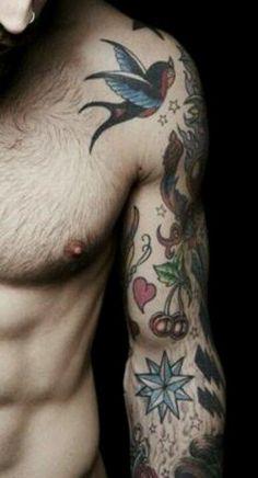 Swallow tattoo traditional old school tattoo 6 - Rondine Tattoo Life Tattoos, Cool Tattoos, Tatoo Bird, Swallow Tattoo, Tattoo Illustration, Tattoos Gallery, Tattoo Inspiration, Old School, Tattoo School
