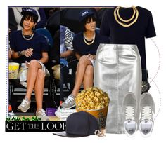 """""""Get the look: RIHANNA"""" by aidasusisilva ❤ liked on Polyvore featuring New Balance, 'S MaxMara, American Apparel, Dorothy Perkins, G-Star Raw, GetTheLook, Rihanna, celebstyle and CelebrityStyle"""