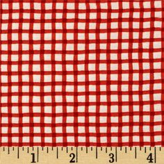 Moda Happy Sunshine Wonky Gingham Sunset from @fabricdotcom  Designed by Keiki for Moda, this fabric is perfect for quilting, apparel and home decor accents. Colors include orange and white.