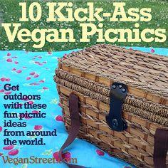 10 Kick-Ass Vegan Picnics