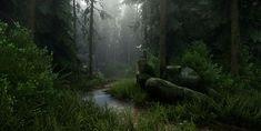 ArtStation - CryEngine Voxel-Based Experiments, Brian Leleux