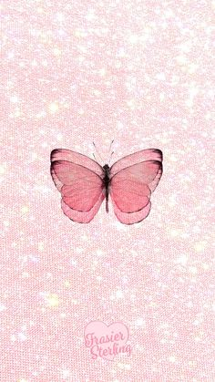 Your phone & computer just got so much cuter. Butterfly Wallpaper Iphone, Pink Wallpaper Backgrounds, Aesthetic Pastel Wallpaper, Iphone Background Wallpaper, Retro Wallpaper, Aesthetic Wallpapers, Background Images, Pastel Pink Wallpaper Iphone, Aztec Wallpaper