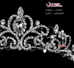 quinceanera jewelry | ... Bride Quinceanera Crowns Pageant Hair Jewelry Gift Box Packed WIGO0007