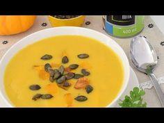 Sprawdzony przepis na zupa z dyni z mleczkiem kokosowym - najlepsza na świecie od MniamMniam.com 😋 Smacznie, szybko i tanio. Gotuj razem z... Cheeseburger Chowder, Food And Drink, Vegan, Youtube, Vegans, Youtubers, Youtube Movies