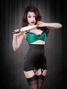 Emerald DeVille Bra | Kiss Me Deadly