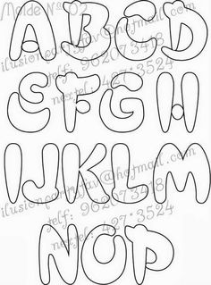 Graffiti Lettering Fonts, Creative Lettering, Types Of Lettering, Lettering Styles, Block Lettering, Coloring Books, Coloring Pages, Letter Stencils, Letter Templates