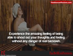 Experience the amazing feeling of being able to #shout out your thoughts and #feelings any danger of real backlash.