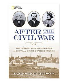 Another great find on #zulily! After the Civil War Hardcover #zulilyfinds