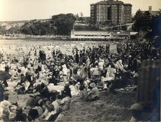 'Manly' - RAHS/Osborne Collection Manly Sydney, Avalon Beach, Bronte Beach, Manly Beach, Historical Images, North Shore, Aerial View, Old Photos, Over The Years