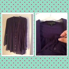 Plus size A line blouse Super Cute to wear with leggings . A line with buttons and light weight . Made with rayon and polyester . Purchased from Macys . Item comes from a smoke free home. element Tops Tees - Long Sleeve