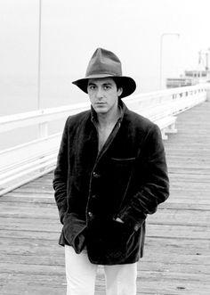 Al Pacino photographed by Tony Korody, 1973