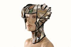 casque futuriste guerrier moderne casque scifi guerrier casque armure sci fi futuriste cyber coiffure superhero steampunk