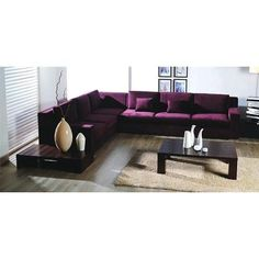 Sharelle Furnishings Sectional Sofa With Plush Upholstery Color   $2777