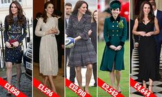 Duchess of Cambridge has already spent £57K on new clothes in 2017 #DailyMail