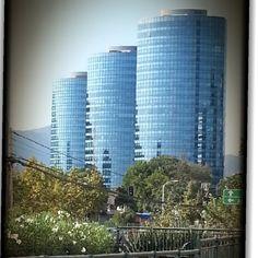 Santiago de Chile. Centro financiero.