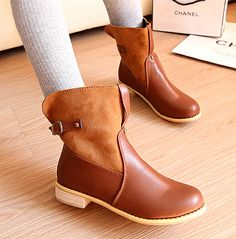 Boots fashion martin boots boots single boots medium-leg women's boots women's shoes sexy strappy heels US $7.49