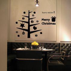 枝ツリー #ウォールステッカー#クリスマス#サンタクロース#サンタ#ツリー #SantaClaus#Christmas#tree#wallsticker