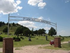 Ash Hollow Cemetery  Lewellen  Garden County  Nebraska  USA