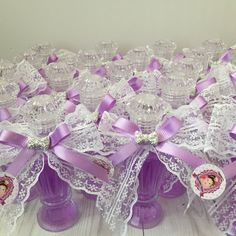 Kolonya şişesi Wedding Candy, Wedding Supplies, Crochet Flowers, Favors, Decoration, Marriage, Purple, Birthday, Gifts