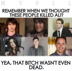 Can't believe they thought that Toby killed Ali...
