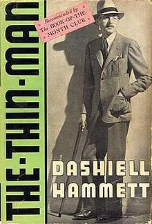 The Thin Man (1934) is a detective novel by Dashiell Hammett, originally published in Redbook. Although he never wrote a sequel, the book became the basis for a successful six-part film series which also began in 1934 with The Thin Man and starred William Powell and Myrna Loy. A Thin Man television series followed in the 1950s.