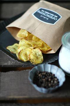 sonsttags - Chips mit Salz und Pfeffer