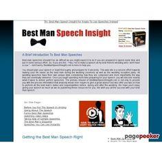 Best Man Speech Insight Premium - Instant Best Man Speeches  #BikeRiding #EatHealthyQuotes #Exercise #GetOutAndRun #Health #HealthyMeals #HealthyRecipes #LiveLonger #LoseWeight #LoseWeightInAWeek #WeightLoss http://ift.tt/2tsYlGR