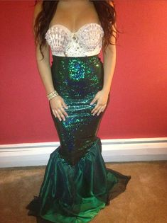 Kim K Mermaid Costume by ItsavGlamour on Etsy