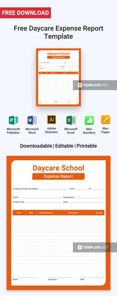 Blank Expense Report Free Blank Report Card  Card Templates And Template