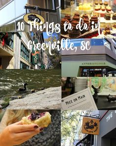 Here's an extra-sweet travel guide to downtown Greenville, SC. Read it here! Post via Cupcakes&Sunshine // yeahTHATgreenville