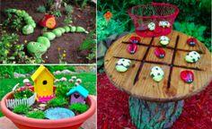 20 bricolages mignons sur le thème du jardinage à faire avec les enfants