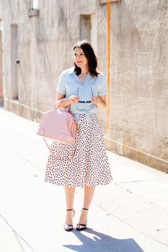 #Modest doesn't mean frumpy. www.ColleenHammond.com #fashion #style