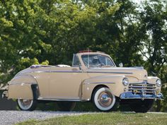 I'd Drive a 1947 Ford Super DeLuxe Two-Door Convertible Just like the one in The Karate Kid