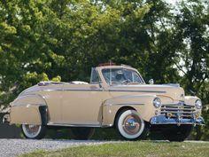 1947 Ford Super DeLuxe Two-Door Convertible