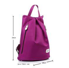 New-korejský-styl-Vodotěsný-Oxford látkové-Ženy-Batoh Bookbags-Travel-Bag-HOT