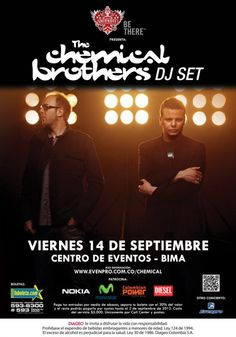 The Chemical Brothers Dj Set en Colombia!