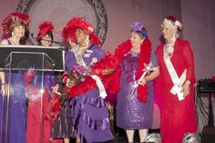 Crowning of 2013 Hatter of the Year Mary Mimbs- 2013 Southern HospitaliTEA International Convention Atlanta, Georgia #RedHatSociety #Sisterhood #Convention