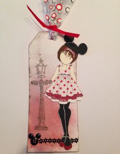 My second Prima Stamp Doll is all about Disney!