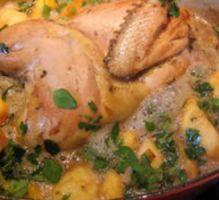 Recette - Faisan au cidre et aux pommes - Proposée par 750 grammes