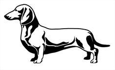 My vector dachshund - WetCanvas
