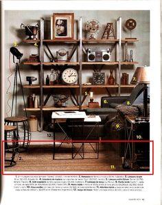 Revista Living. Alfombra en lana gruesa hilada a mano con huso y teñida con algarrobo.