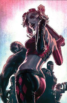 Suicide Squad by Lee Bermejo